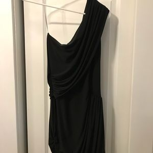 Soprano one shoulder fitted dress